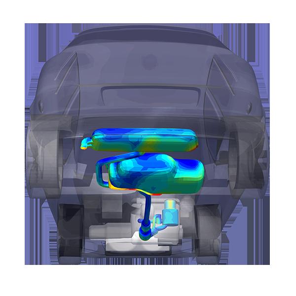TAITherm car exhaust system