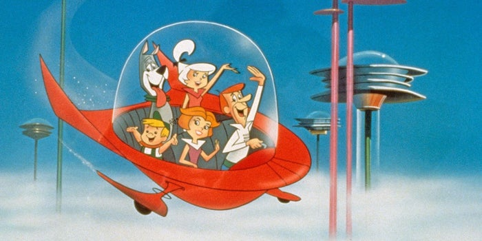 george jetson capsule car